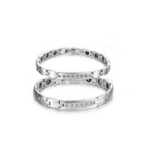 Pulsera de acero de tungsteno, pulseras de pareja al por mayor, el más nuevo diseño de pulsera