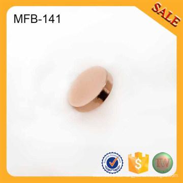 MFB141 Rose Gold Felge leere Metall Kleidung Tasten