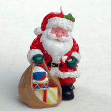 Xmas Stana Claus Candle Decoration Geschenkset