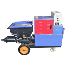 Máquina de pulverización de yeso de cemento y hormigón