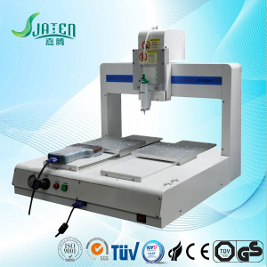Liquid glass epoxy resin industrial glue dispenser machine