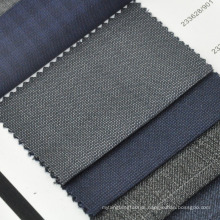 wool silk blended suit fabric for western formal wear for men