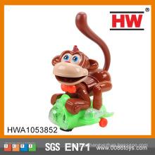 Lustige Plastikbatterie betriebene musikalische Universalspielzeug-Affe mit Licht
