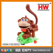 Funny Plastic Battery Operated Musical Universal Toy Monkey With Light