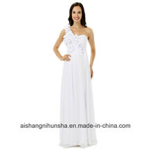 Bridesmaid Dress One-Shoulder Chiffon Long Party Dress