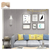 papier peint tissé pvc de paillettes de luxe prix équitable pour la décoration
