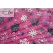 PV-Plüsch Stoff für Bekleidungs- und Home Textile 048