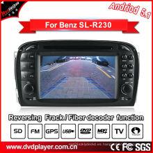 GPS del coche para Benz SL R230 Sistema Android DVD Navigatior