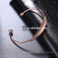 wholesale rose gold lucky bracelet alloy bracelet