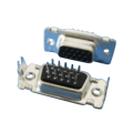D-SUB PCB Female Three Row Straight (Pin timbrato)