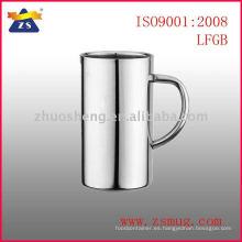 taza de café de acero inoxidable