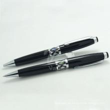 Bolígrafos decorativos de Shell de la pluma de bola de Engrave de la moda