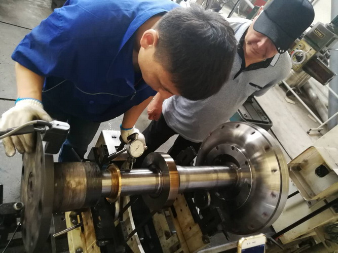 Overhaul Service for Voith Couplings