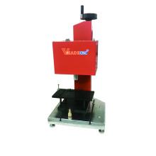 Máquina de marcação giratória do ponto da pena para as peças de rolamento