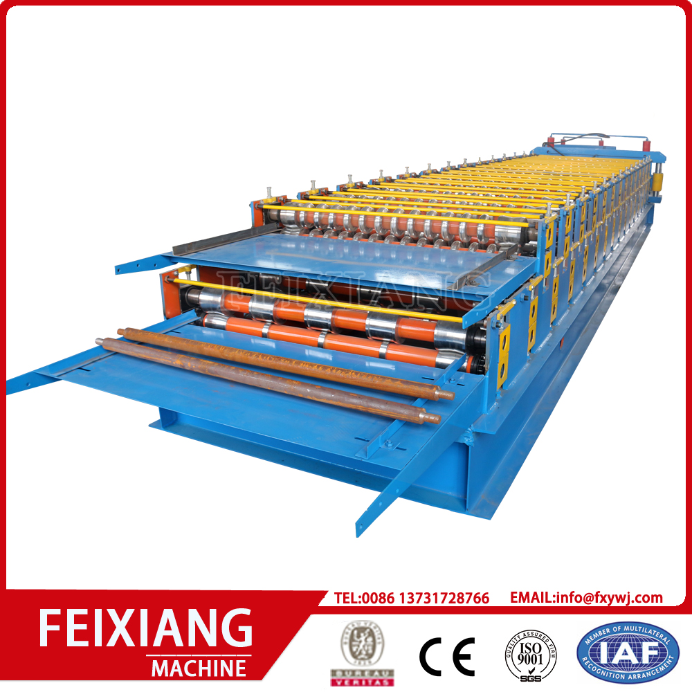 Double Layer Wall  Panel Roll Forming Machine