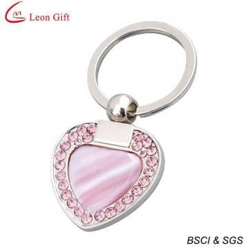Casamento por atacado dom coração diamante chaveiro para presente (LM1676)