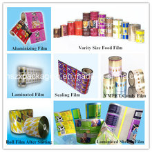 Manufacturer Varity Size Laminated Film