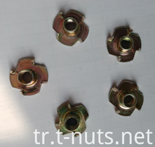Color Zinc plated Tee Nuts