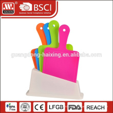 Wholesale plastic meat pizza chopping cutting board stand