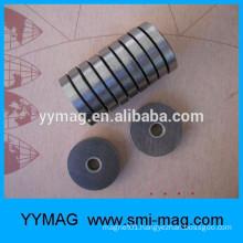 Motorcycle odometer magnet