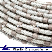 Plastic Diamond Wire for Marble Block Squaring
