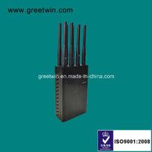 8 Антенны Переносной Jammer / сотовый телефон GPS Jammer / WiFi Jammer (GW-JN8)