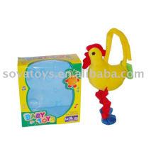 913990734-Baby bell plush chicken toy
