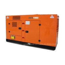 50Hz 90kw / 113kVA Schalldichte Diesel-Generator-Set von Lovol Motor
