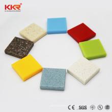 hoja de superficie sólida de piedra 100% acrílica gris puro para panel