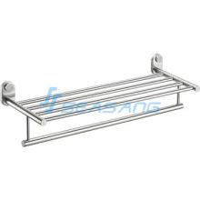 Stainless Steel Bathroom Towel Rack, Towel Bar Shelf