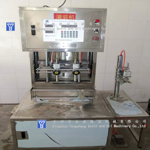 Filling Machine for groundnut oil