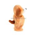 Les jouets en peluche mous électroniques mignons de chien de peluche peuvent adaptés aux besoins du client
