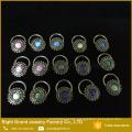 Best Friend Nipple Ring Cheap Custom Made Nipple Rings Flower Opal piercing Nipple Jewelry