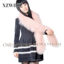 Neue Mode mongolischen Lammfell Winter Schal