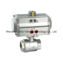 Thread2PC Ball Valve with Pneumatic Actuator