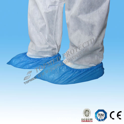 CPE Medical Surgical Shoe Cover From Topmed