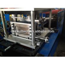C purlin roll forming machine with online hole punching