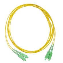 SC одномодового волоконно-оптического соединительного шнура Simplex SC APC