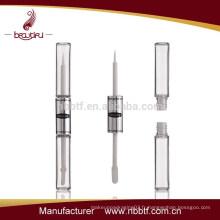 SAL-2 2015 clair double face 3d cils de fibre mascara tube label privé, 3d frotte le mascara avec un excellent prix