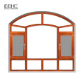 Aluminium half moon fixed glass windows