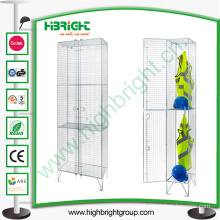 Workers Steel Wire Mesh Wardrobe Lockers