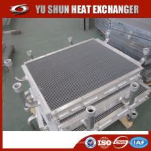 Fabricant og plate-forme et bar refroidisseur d'huile hydraulique brasé en aluminium pour chat