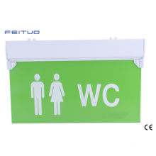 Wc Exit Sign, Emergency Light, LED Emergency Exit Sign, Wc Exit Sign