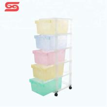 Plástico da gaveta do armário de armazenamento para artigos diversos da ferramenta
