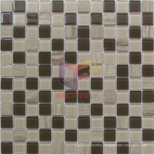Wooden Marble Crystal Mosaic Tiles (CS240)