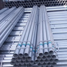 Pre Galvanized Steel Weld Pipe With Coupling