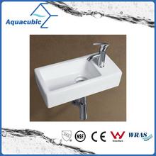 Керамический шкаф тазика искусства и настенные раковины для мытья рук (ACB8325)