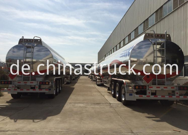 3 Axles Fuel Transport Tanker Trailer