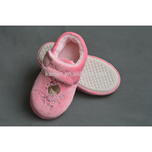 pink fashion pretty baby girl indoor winter slipper shoes 2016