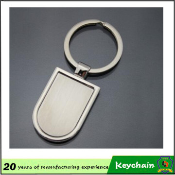 Promotional Gift Shield Shape Key Chain with Logo
